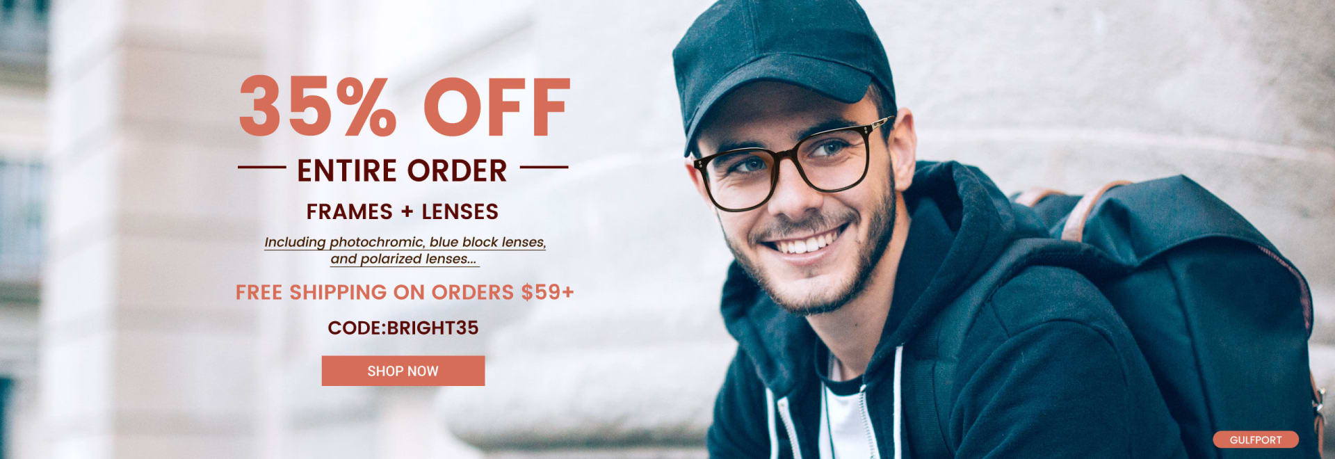 35% off entire order